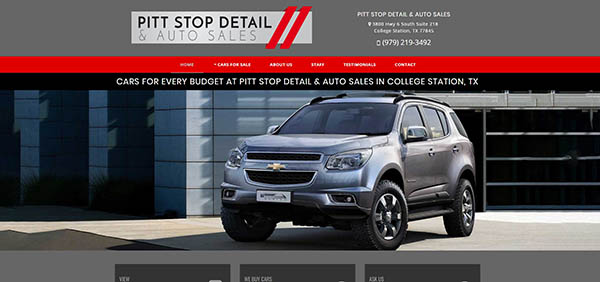 Pitt Stop Detail and Auto Sales - College Station, Texas
